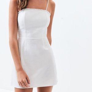 NWT PACSUN WHITE DRESS W/ ADJUSTABLE STRAPS